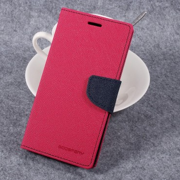 Pouzdro Goospery Fancy Diary pro LG G6 - magenta