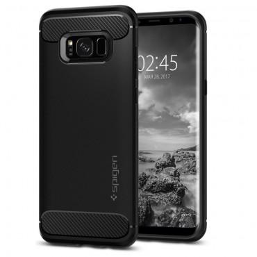 "Kryt Spigen ""Rugged Armor"" pro Samsung Galaxy S8 - black"