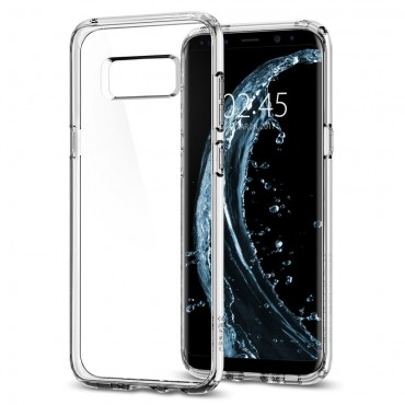 "Kryt Spigen ""Ultra Hybrid"" pro Samsung Galaxy S8 - crystal clear"