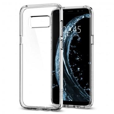 """Obal Spigen """"Ultra Hybrid"""" pro Samsung Galaxy S8 - křišťálově jasný"""