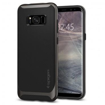 """Obal Spigen """"Neo Hybrid"""" pro Samsung Galaxy S8 - kovově černý"""
