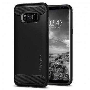 "Obal Spigen ""Rugged Armor"" pro Samsung Galaxy S8 Plus - černý"