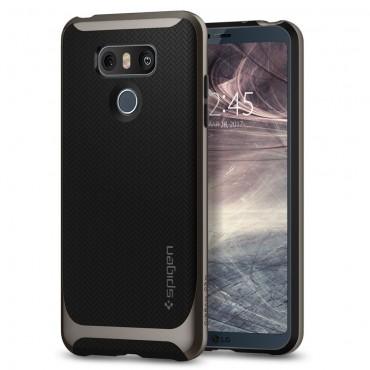 """Obal Spigen """"Neo Hybrid"""" pro LG G6 - kovově černý"""