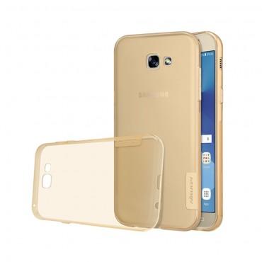 """Premium tenký kryt """"Nature"""" pro Samsung Galaxy A5 2017 - zlatý"""