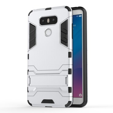"Robustní kryt ""Impact X"" pro LG G6 - stříbrné barvy"