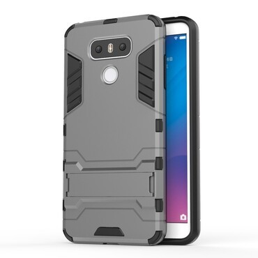 """Robustní obal """"Impact X"""" pro LG G6 - šedý"""