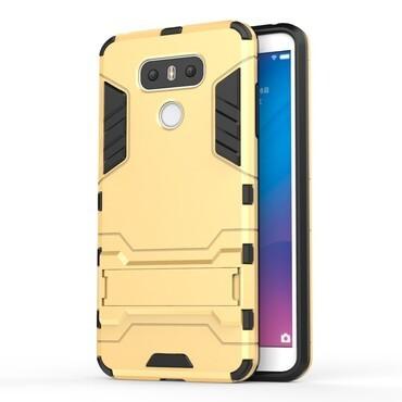 """Robustní kryt """"Impact X"""" pro LG G6 -zlatý"""