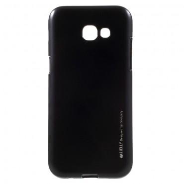 Kryt TPU gel Goospery iJelly Case pro Samsung Galaxy A5 2017 - černé