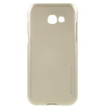 Kryt TPU gel Goospery iJelly Case pro Samsung Galaxy A5 2017 - zlatý