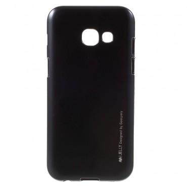 Kryt TPU gel Goospery iJelly Case pro Samsung Galaxy A3 2017 - černé