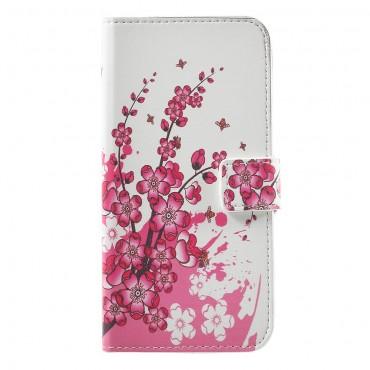 "Módní pouzdro ""Flower Bloom"" pro Huawei Honor 8 Lite / P8 Lite 2017 / Nova Lite"