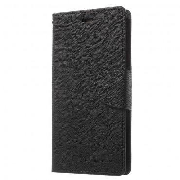 Pouzdro Goospery Fancy Diary pro Huawei P10 - černé