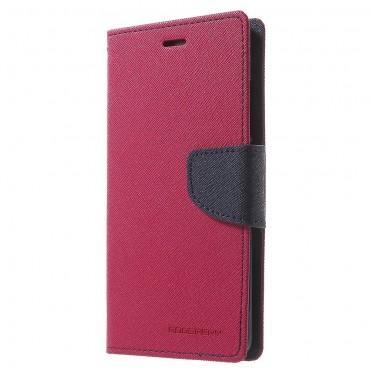 Pouzdro Goospery Fancy Diary pro Huawei P10 - magenta