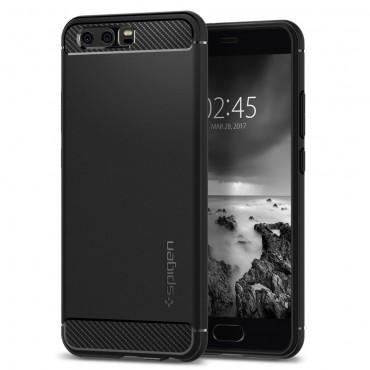 "Kryt Spigen ""Rugged Armor"" pro Huawei P10 - black"