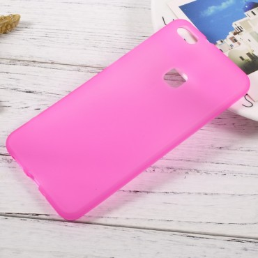 TPU gelový obal pro Huawei P10 Lite - růžový