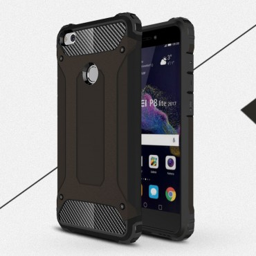 "Robustní kryt ""Rock"" pro Huawei Honor 8 Lite / P8 Lite 2017 / Nova Lite - černé"