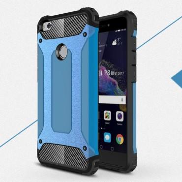 """Robustní obal """"Rock"""" pro Huawei Honor 8 Lite / P8 Lite 2017 - modrý"""