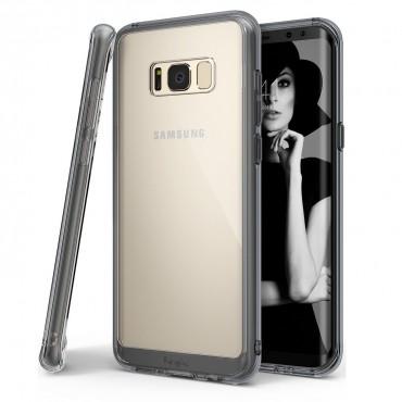 "Kryt Ringke ""Fusion"" pro Samsung Galaxy S8 Plus - smoke black"