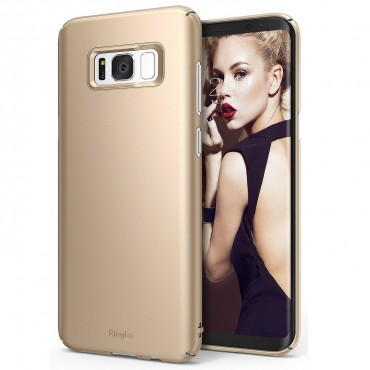 "Kryt Ringke ""Slim"" pro Samsung Galaxy S8 - royal gold"
