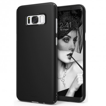 "Obal Ringke ""Slim"" pro Samsung Galaxy S8 - tmavě černý"