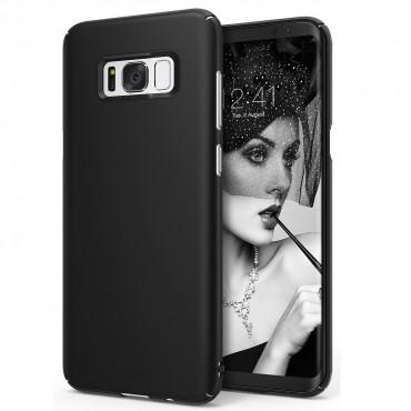 "Obal Ringke ""Slim"" pro Samsung Galaxy S8 Plus - tmavě černý"