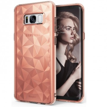 "Kryt Ringke ""Air Prism"" pro váš Samsung Galaxy S8 – růžově zlatý"