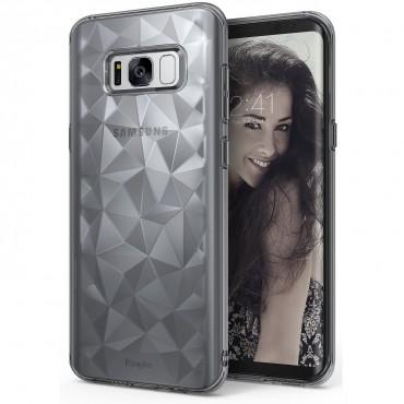 """Obal Ringke """"Air Prism"""" pro Samsung Galaxy S8 - kouřově černý"""