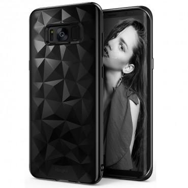 """Kryt Ringke """"Air Prism"""" pro váš Samsung Galaxy S8 Plus – ink black"""