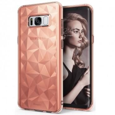 "Obal Ringke ""Air Prism"" pro Samsung Galaxy S8 Plus - růžově zlatý"