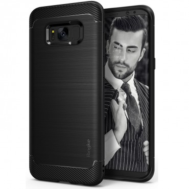 "Obal Ringke ""Onyx"" pro Samsung Galaxy S8 Plus - černý"