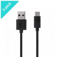 3-Pack USB-C to USB Xiaomi nabíjecí a datový kabel