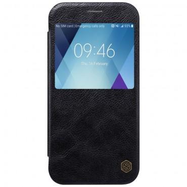 """Elegantní pouzdro """"Qin Smart"""" pro Samsung Galaxy A5 2017 - černé"""