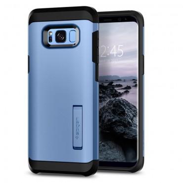 "Kryt Spigen ""Tough Armor"" pro Samsung Galaxy S8 - blue coral"