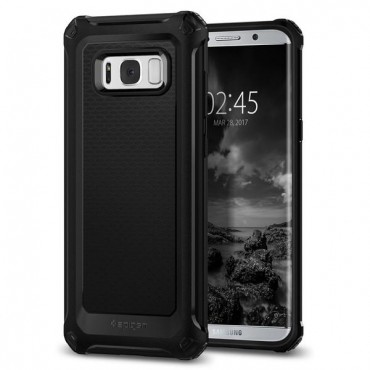"Kryt Spigen ""Rugged Armor Extra"" pro Samsung Galaxy S8 Plus - black"