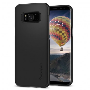 "Obal Spigen ""Thin Fit"" pro Samsung Galaxy S8 - černý"