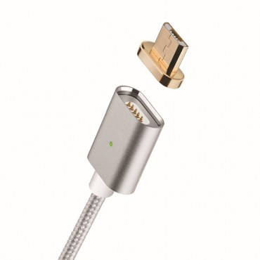 "Prémiový magnetický kabel ""Power Snap"" s microUSB adaptérem"