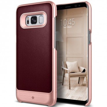 Kryt Caseology Fairmont Series pro Samsung Galaxy S8 - cherry oak