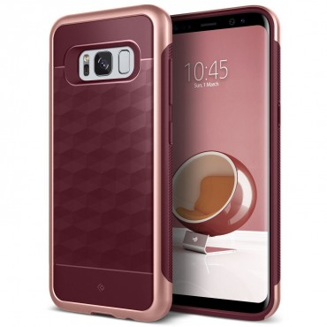 Kryt Caseology Parallax Series pro Samsung Galaxy S8 Plus - burgundy