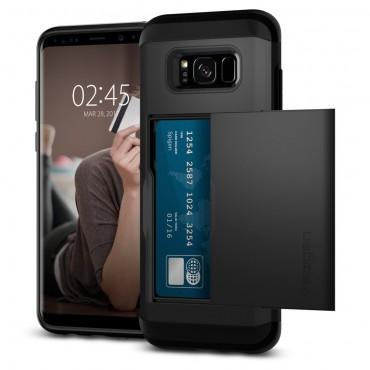 "Obal Spigen ""Slim Armor CS"" pro Samsung Galaxy S8 - černý"