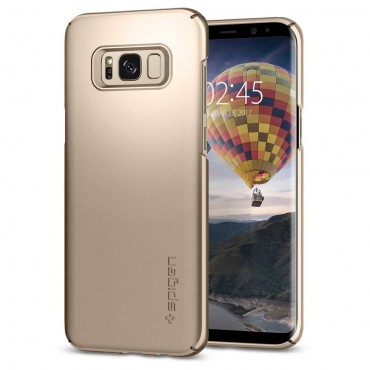 "Kryt Spigen ""Thin Fit"" pro Samsung Galaxy S8 - gold maple"