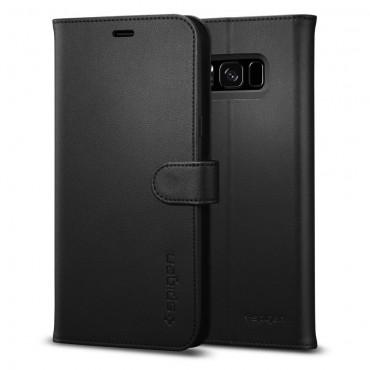 "Pouzdro Spigen ""Wallet S"" pro Samsung Galaxy S8 - black"