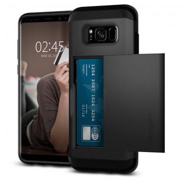 "Kryt Spigen ""Slim Armor CS"" pro Samsung Galaxy S8 Plus - black"