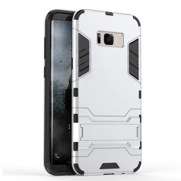 "Robustní kryt ""Impact X"" pro Samsung Galaxy S8 - stříbrné barvy"