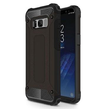 """Robustní kryt """"Rock"""" pro Samsung Galaxy S8 - černé"""