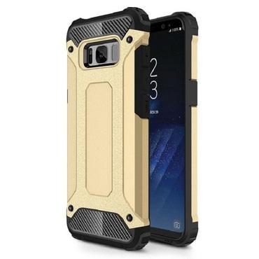 """Robustní obal """"Rock"""" pro Samsung Galaxy S8 - zlaté barvy"""