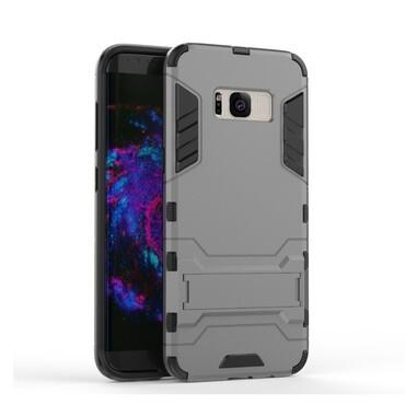 """Robustní obal """"Impact X"""" pro Samsung Galaxy S8 Plus - šedý"""