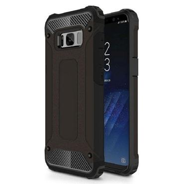 """Robustní obal """"Rock"""" pro Samsung Galaxy S8 Plus - černý"""