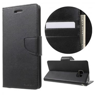 Pouzdro Goospery Bravo Diary pro Samsung Galaxy S8 - černé