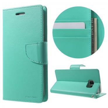 Pouzdro Goospery Bravo Diary pro Samsung Galaxy S8 Plus - mint