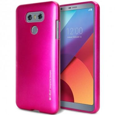 Kryt TPU gel Goospery iJelly Case pro LG G6 - magenta